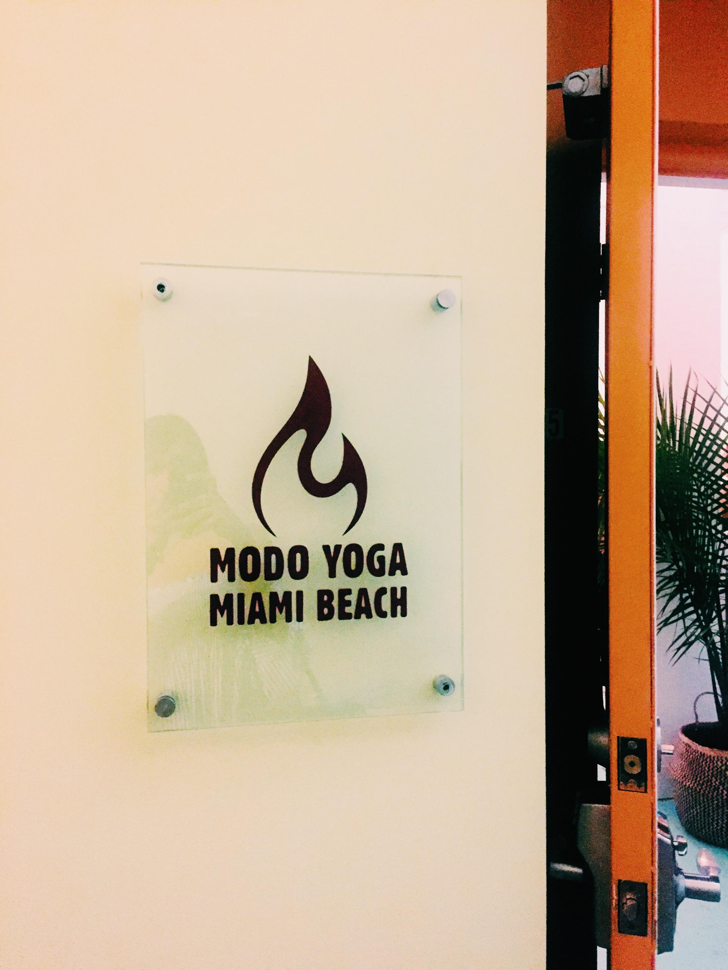 Welcome to Modo Yoga Miami Beach
