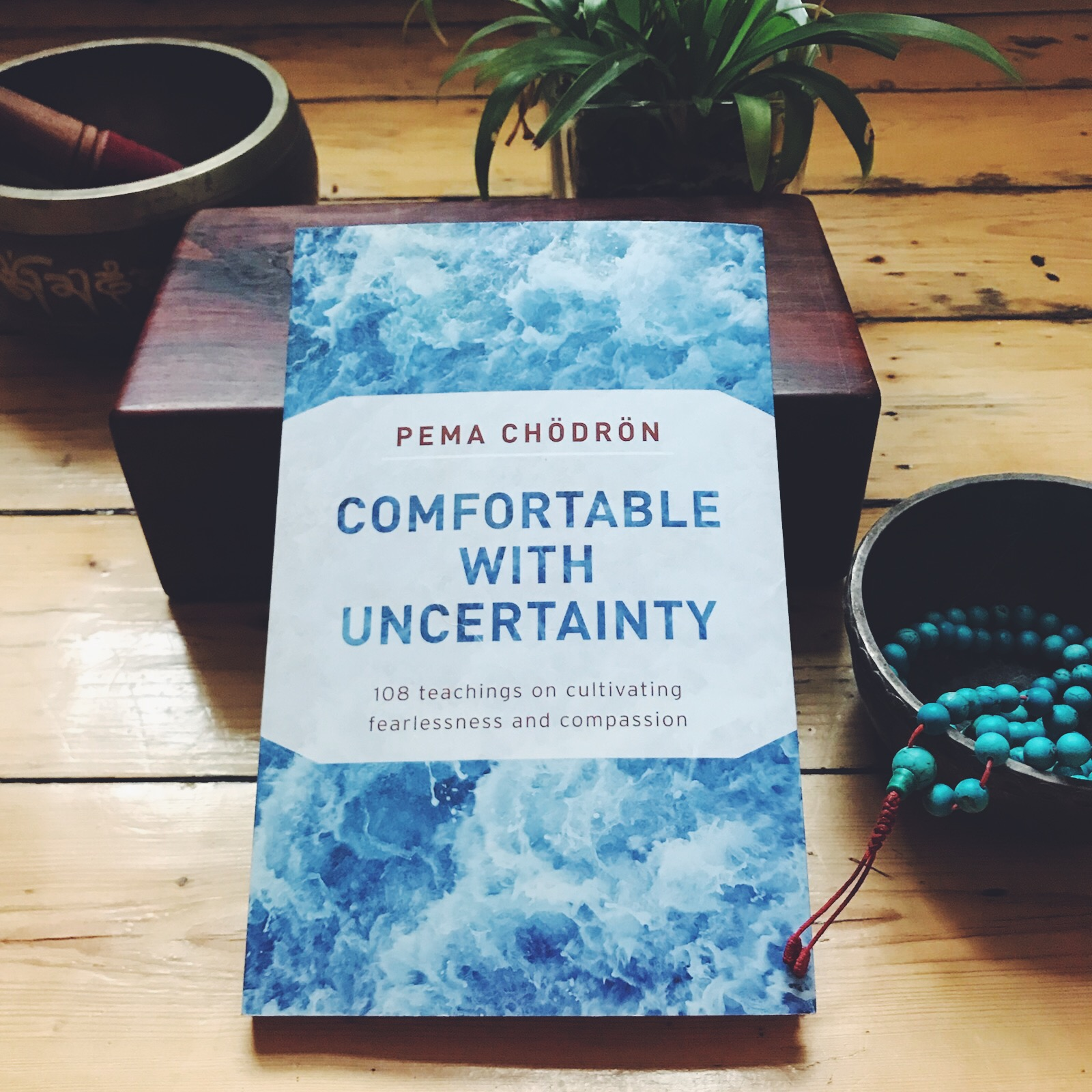 Comfortable with Uncertainty by Pema Chödrön